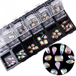 Xara Chameleon Glass Stone Box