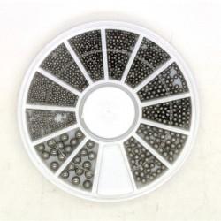 Xara Metal Ball Wheel - Black