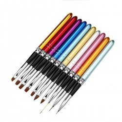 Xara Nail Art Brush Set of 10
