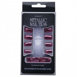Konad Metallic Tips - Red -...